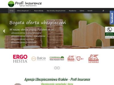 Agencja ubezpieczeniowa Kraków - Pośrednik ubezpieczeniowy