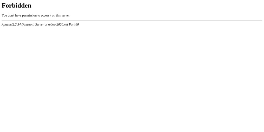 Reboot(リブート)