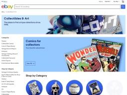 Ebay Collectibles & Art screenshot