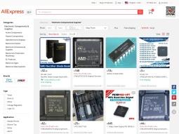 screenshot AliExpress Electronics