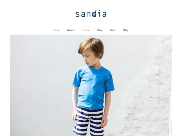 子供水着sandia公式サイト