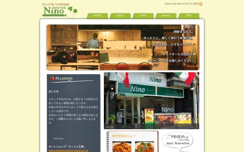 Slow Food Nino