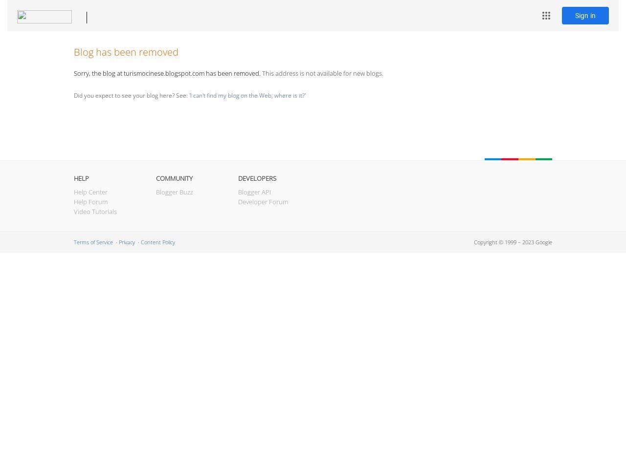 turismo-cinese