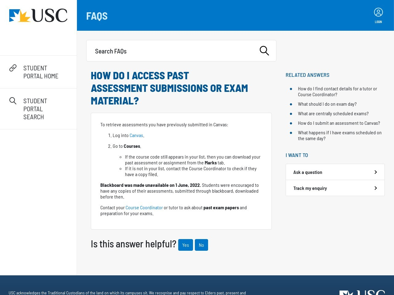 How can I retrieve my old assessments in Blackboard?