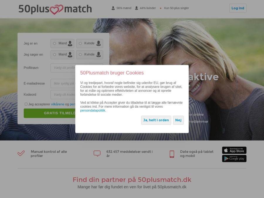 http://www.50plusmatch.dk