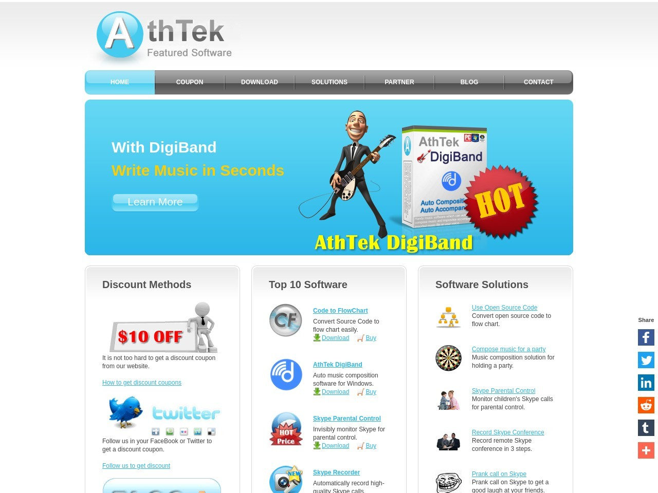 AthTek Software