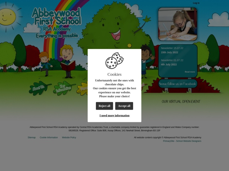 Abbeywood First School reviews and contact