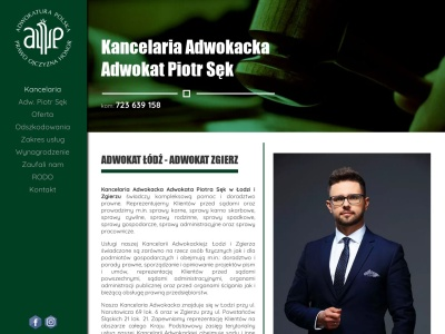 Adwokat Łódź, Zgierz - Kancelaria Adwokacka Piotr Sęk