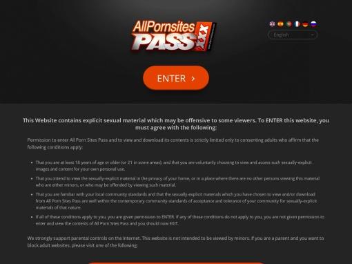 Porn Sites Pass screenshot