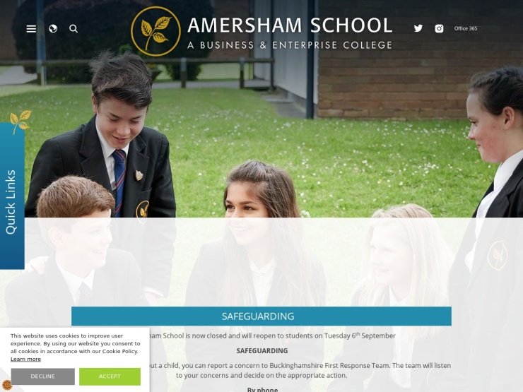 Amersham School reviews and contact