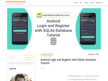 Android Login and Register with SQLite Database Tutorial ...