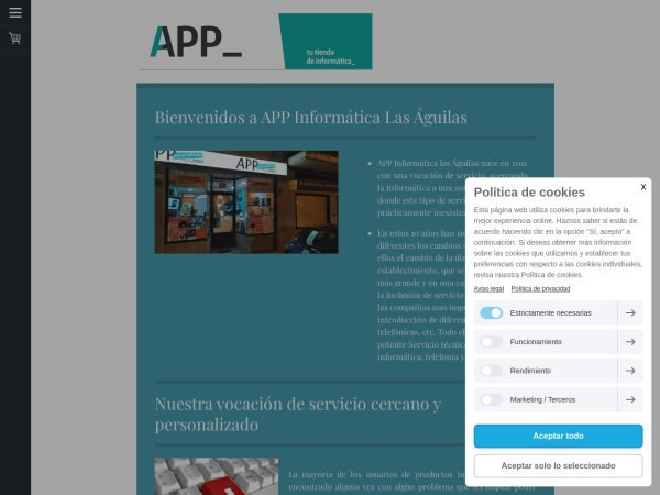 APP INFORMATICA LAS AGUILAS - Opiniones de clientes -