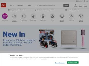 Argos 20% Homeware Sale