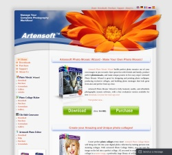 Artensoft Photo Mosaic Wizard (Business License) Coupons