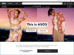 capture d'écran Asos Fashion