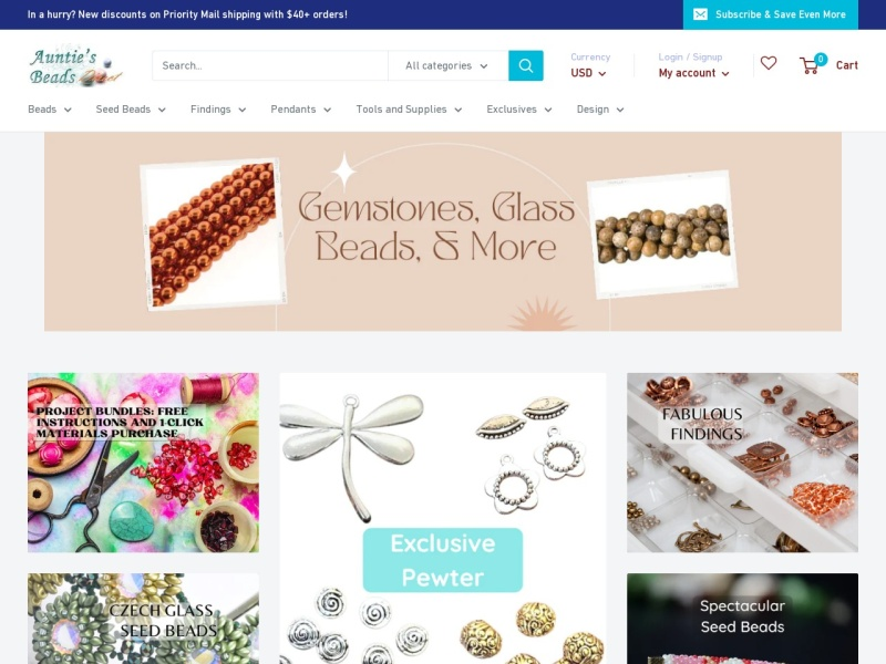 Auntie's Beads: Beads & Jewelry Making Supplies