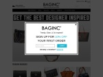 BAGINC : BGLAMOUR LIMITED Coupon and Promo codes
