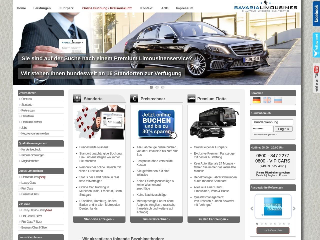 Bavaria Limousines