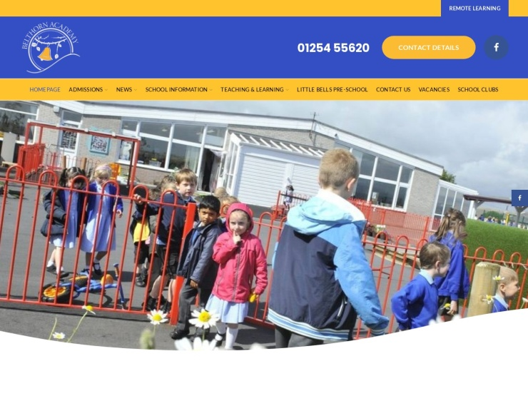 Belthorn Academy Primary School reviews and contact