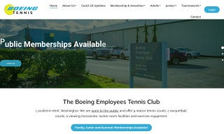 photo of Boeing Employees Tennis Club