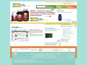 betterlife.com Vitamins and Supplements at Discounted Prices