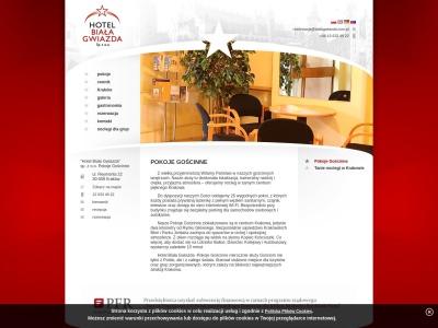 Biała Gwiazda Kraków: tani hotel - tanie noclegi - nocleg również dla grup