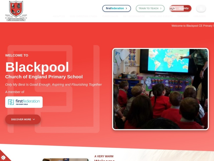 Blackpool Church of England Primary School reviews and contact