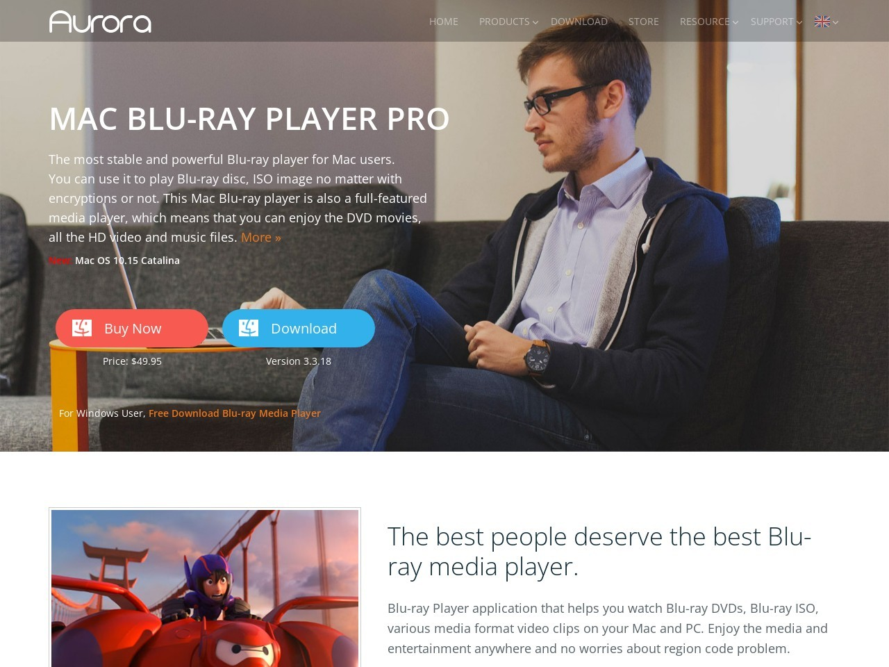 Aurora Blu-Ray Player