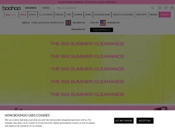 20% Off Boohoo․com New Season
