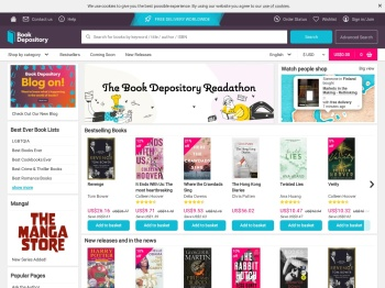 The Book Depository Spring Sale