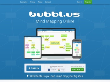 Mind Mapping Online - Bubbl.us