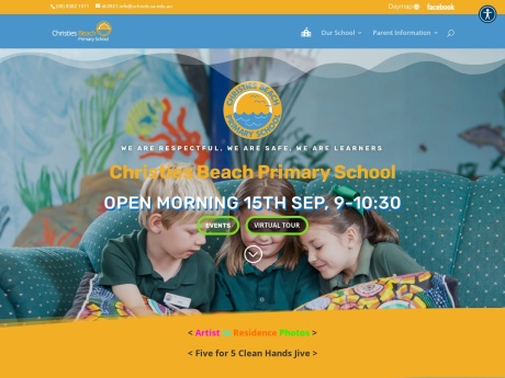 Christies Beach Primary School Website