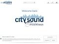 www.city-sound.de Vorschau, Musikhaus City Sound, A. Herwig & B. Herwig GbR