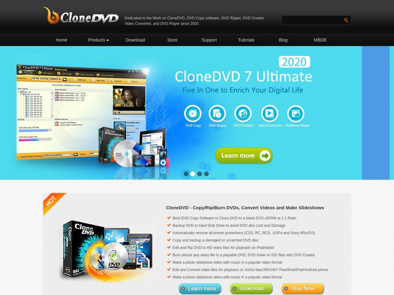 CloneDVD 7 Ultimate 3 years/1 PC Voucher Deal - Instant Deal