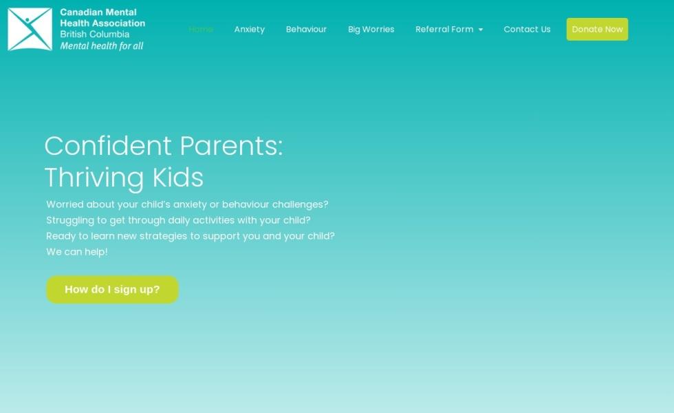 Confident Parents: Thriving Kids