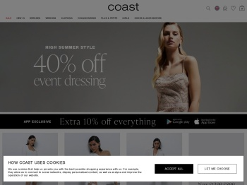 Coast Christmas Sale