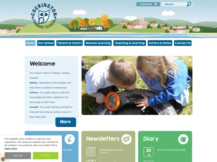 Cockington Primary School reviews and contact