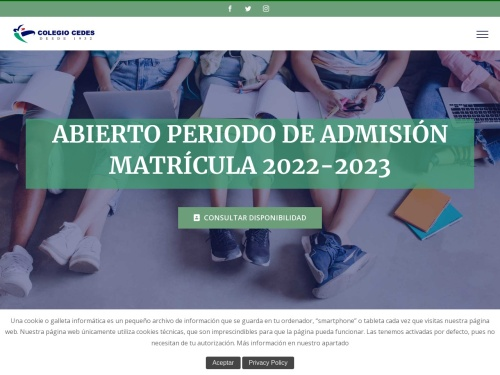 Opiniones sobre  Colegio Cedes