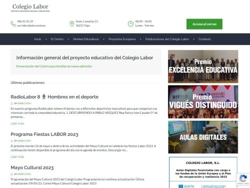 Opiniones sobre  Colegio Labor