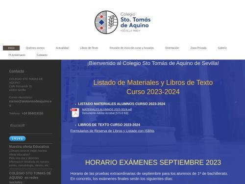Opiniones sobre  Colegio Santo Tomás De Aquino