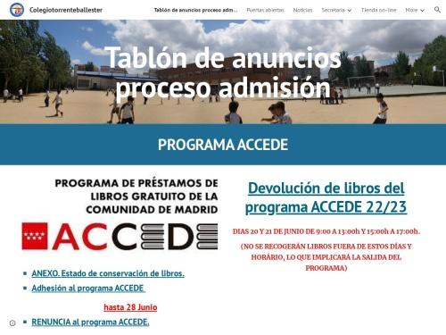Opiniones sobre  Colegio Torrente Ballester