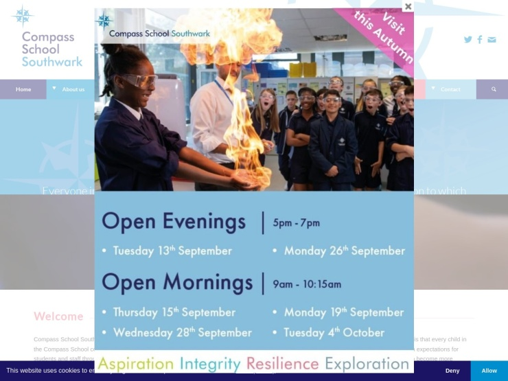 Compass School Southwark reviews and contact