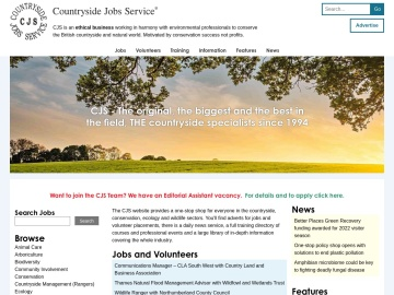 Countryside Jobs Service - home page