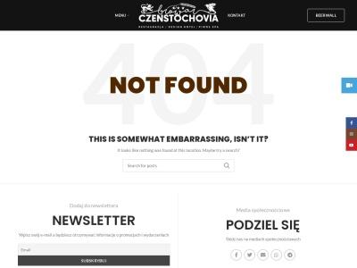 Browar CzenstochoviA, restauracja, piwne spa, hotel Częstochowa