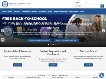 M-DCPS Students Page - Miami-Dade County Public Schools