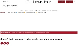 SpaceX finds source of rocket explosion plans new launch
