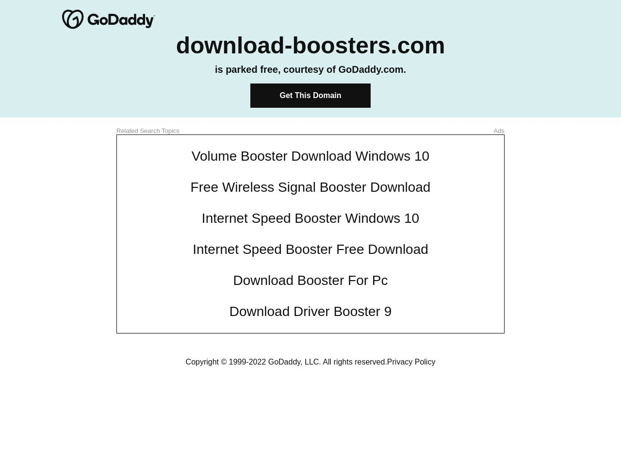 Download Boosters
