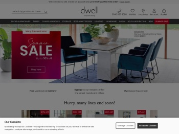 Dwell Furniture 40% Easter Sale