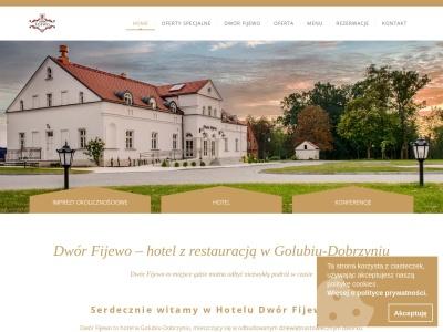 Dworek Fijewo – restauracja,  nocleg, wesele | wesela i noclegi Golub-Dobrzyń