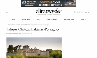 Lalique Château Lafaurie-Peyraguey